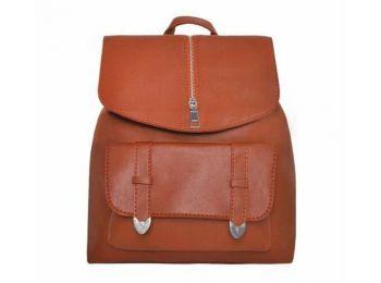 Női  hátizsák,kézitáska - barna