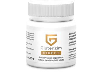 Glutenzim Direct tabletta - 30 db