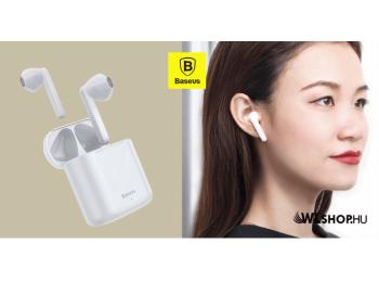 Baseus TWS Encok W09 mini vezeték nélküli fülhallgató B
