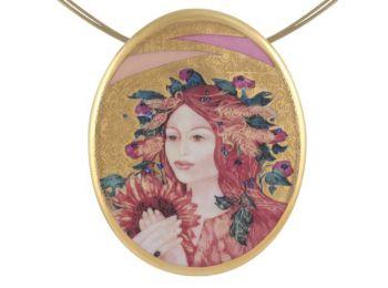 Faragó Nyár arannyal festett medál