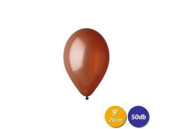 26 cm-es barna gumi lufi 50 db/cs