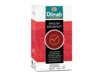 Dilmah English Breakfast fekete tea gasztro csomag 100 filter/doboz