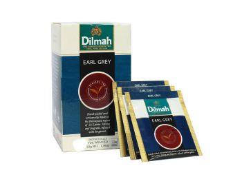 Dilmah earl grey  fekete tea gasztro csomag 100 filter/doboz
