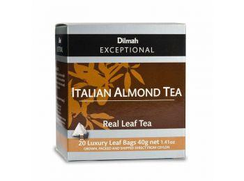Dilmah Exceptional Italian Almond aromás fekete tea 20 filter/doboz
