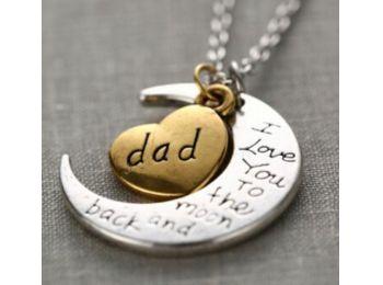 Szeretlek apa nyaklánc