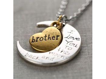 Szeretlek öcsém/bátyám nyaklánc
