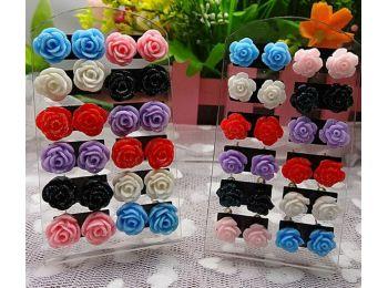 YES-NO műanyag fülbevaló