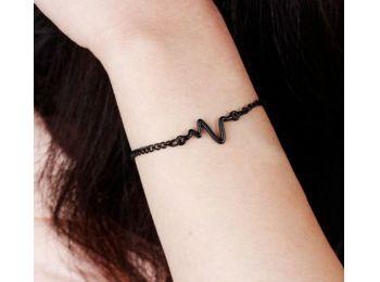 EKG karkötő