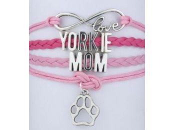 Yorkie anyuka karkötő