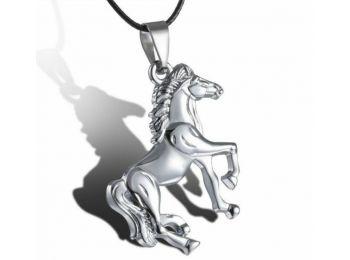 Egész alakos ló nyaklánc