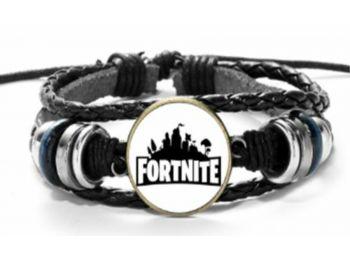 Fortnite fekete-fehér karkötő