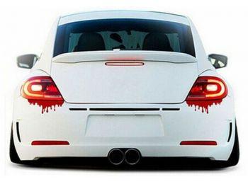 Véres hátsó lámpa autómatrica