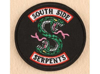 Riverdale South Side Serpents felvarró