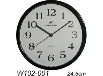 W102-001 Cartini falióra, fekete