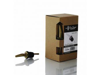 The Bars arany színű pro pour kiöntő dugó műanyag lamellákkal 12db/doboz