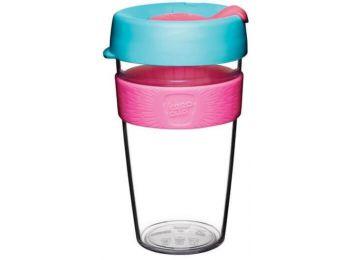 KeepCup clear plasztik to go pohár kávés termosz RADIANT