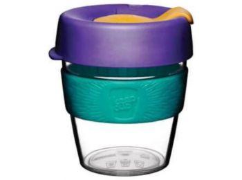 KeepCup clear plasztik to go pohár kávés termosz REEF 240