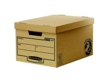 Archiválókonténer, karton, nagy, BANKERS B