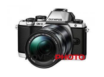 Olympus OM-D E-M10 1415II KIT ezüst/fekete