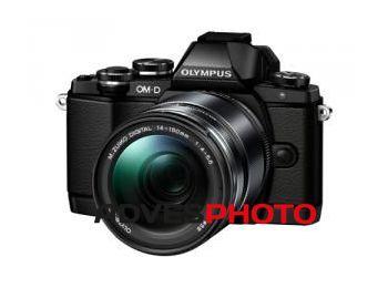 Olympus OM-D E-M10 1415II KIT fekete/fekete