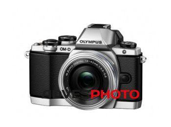 Olympus OM-D E-M10 DZK KIT ezüst/fekete/fekete