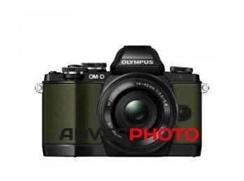 Olympus OM-D E-M10 Limited Edition 1442EZ KIT zöld/fekete