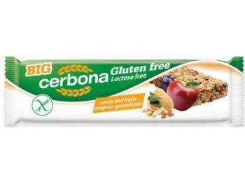 Cerbona gluténmentes szelet magvas-gyümölcs 35 g