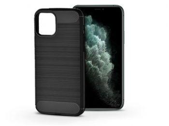 Apple iPhone 11 Pro Max szilikon hátlap - Carbon - fekete