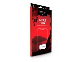 Samsung G973U Galaxy S10 edzett üveg képernyővédő fólia - MyScreen Protector Impact Glass Edge hajlított 3D Fullcover - fekete