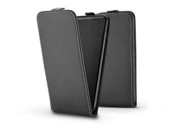 Slim Flexi Flip bőrtok - Huawei Y5p - fekete