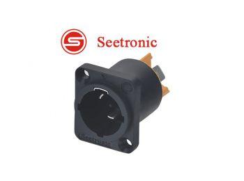 Seetronic SAC3MPX PowerCon aljzat, 3 pólusú, bemeneti, IP6