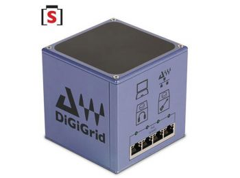 DiGiGrid S - PoE (Power over Ethernet) switch