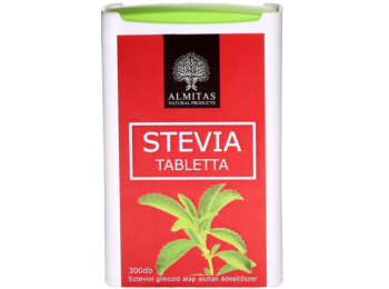 Stevia tabletta 300 db - Almitas