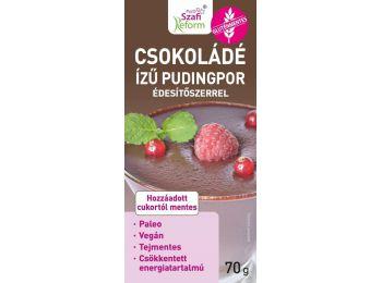 Szafi Reform Csokoládé ízű pudingpor édesítőszerrel 7