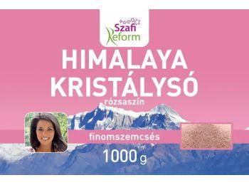 Szafi Reform Himalaya (rózsaszín, finomszemcsés) só 1000