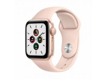 Apple Watch SE GPS 44mm Arany alumínium tok - sportszíjjal