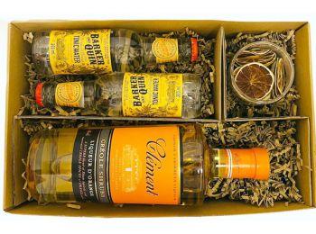 Clement Rum Szett Tonikkal és szárított Lime vel