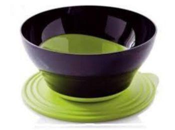 Elegancia tál 4,6 L fekete-zöld Tupperware