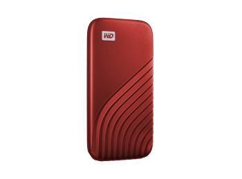 WD My Passport™ SSD 1TB, piros