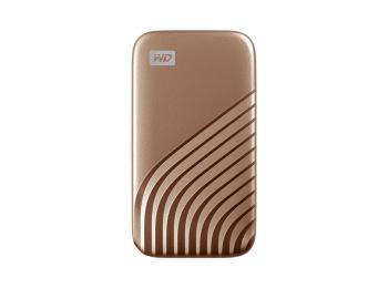 WD My Passport™ SSD 2TB, arany