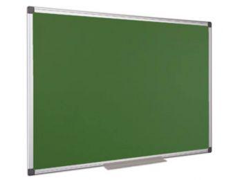 Krétás tábla, zöld felület, nem mágneses, 90x180 cm, a