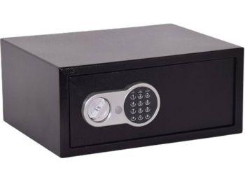 Lemezszekrény, elektronikus zár, 26,5 l, 200x450x350 mm, K