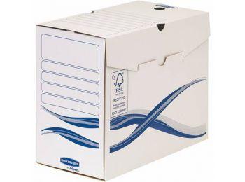 Archiválódoboz, A4, 150 mm, FELLOWES Bankers Box Basic, k�