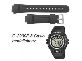 G-2900F-8 Casio szürke műanyag szíj