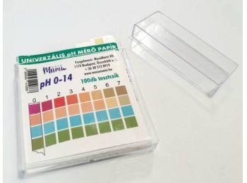 pH mérő papír 100 db
