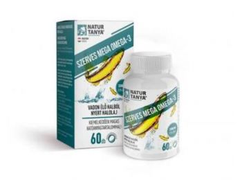 Natur Tanya® Mega Omega-3 - vadvízi halolaj, extra EPA és