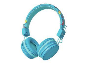 Fejhallgató, vezeték nélküli, gyerekeknek, TRUST BT Kids, kék (TRFH23607)