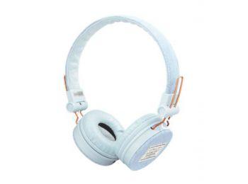 Fejhallgató, vezetékes, TRUST Fyber, világos farmer (TRFH23610)