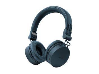 Fejhallgató, vezeték nélküli, TRUST Tones, kék (TRFH23908)