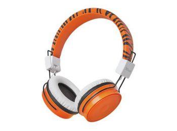 Fejhallgató, vezeték nélküli, gyerekeknek, TRUST BT Kids, narancs (TRFH23583)
